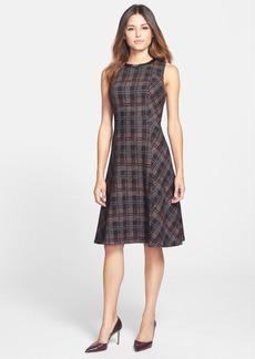 Classiques Entier® 'Stella' Plaid Fit & Flare Dress