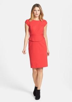 Classiques Entier® Structured Ponte Knit Sheath Dress