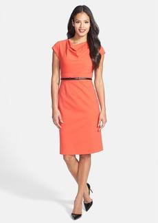 Classiques Entier® 'Sunmosa' Drape Neck Ponte Dress