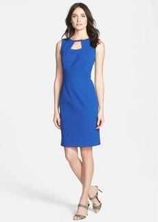 Classiques Entier® 'Sunmosa Ponte' Cutout Detail Dress