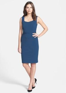 Classiques Entier® 'Sunmosa Ponte' Seam Detail Dress