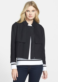 Classiques Entier® Trench Detail Crop Jacket