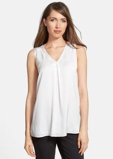 Classiques Entier® V-Neck Stretch Silk Blouse