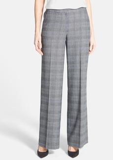 Classiques Entier® Wide Leg Check Plaid Pants