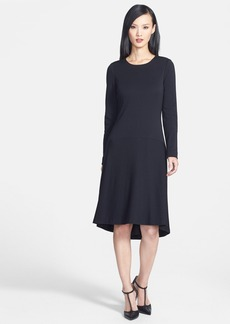 Classiques Entier® Wool Blend High/Low Drop Waist Dress