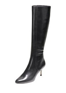 Carlyle Point-Toe Dress Boot, Black   Carlyle Point-Toe Dress Boot, Black