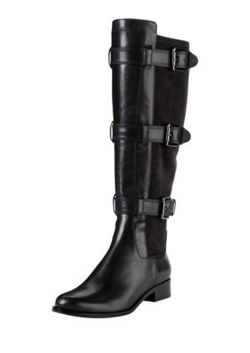 cole haan cole haan air avalon buckle leather boot
