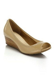 Cole Haan Air Tali Leather Wedge Pumps