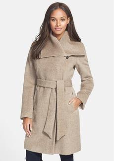 Cole Haan Alpaca Blend Belted Coat