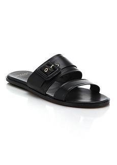 Cole Haan Amavia Leather Slide Sandals