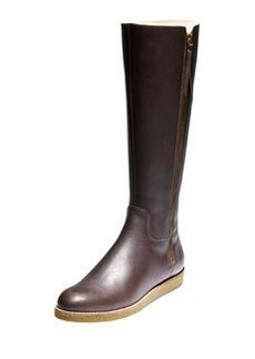 Cole Haan Auden Tall Leather Boot, Chestnut