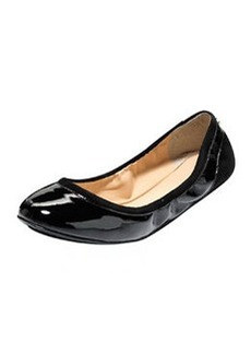 Cole Haan Avery Patent GRAND/OS Ballerina Flat, Black