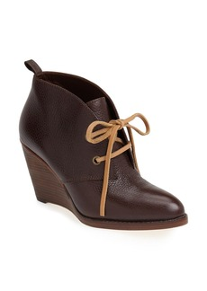 Cole Haan 'Balthasar' Pointy Toe Nubuck Leather Chukka Bootie (Women)