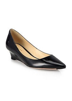 Cole Haan Bradshaw Patent Leather Wedge Pumps