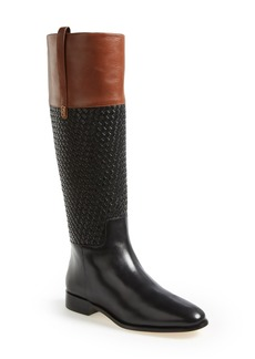 Cole Haan 'Brennan' Woven Shaft Riding Boot (Women)