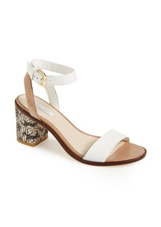 Cole Haan 'Cambon' Embossed Leather Sandal (Women)