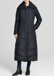 Cole Haan Down Coat - Pillow Collar Quilted