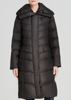 Cole Haan Down Coat - Quilted Pillow Collar