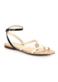 Cole Haan Jensen Colorblock Strappy Leather Sandals