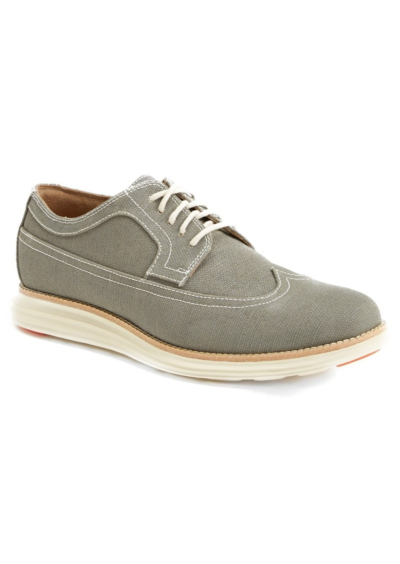 cole haan cole haan lunargrand canvas longwing