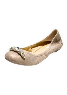 Cole Haan Manhattan Jewel Ballerina Flat, Maple Sugar