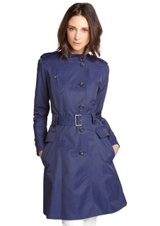 Cole Haan marine cotton blend double breasted trench coat