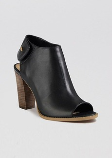 Cole Haan Open Toe Booties - Wrey High Heel
