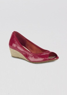 Cole Haan Open Toe Wedge Pumps - Air Tali
