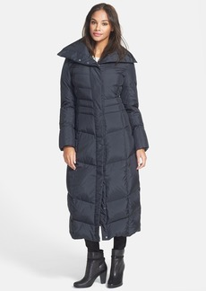 Cole Haan Oversize Collar Long Down & Feather Coat