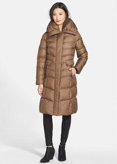Cole Haan Oversize Collar Packable Long Down Coat
