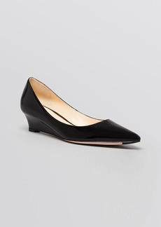 Cole Haan Pointed Toe Wedge Pumps - Bradshaw