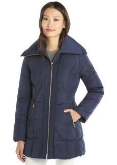 Cole Haan rainstorm quilted zip front down jacket