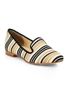 Cole Haan Sabrina Woven Leather & Suede Loafers
