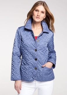 Cole Haan Short Quilted Jacket (Petite)