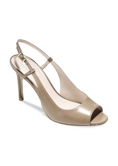 Cole Haan Slingback Open Toe Pumps - Bethany