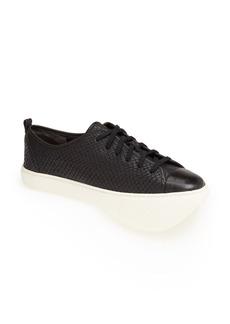 Cole Haan Snake Embossed Leather Sneaker (Women)