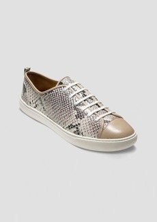 Cole Haan Sneakers - Snake Print Laceup