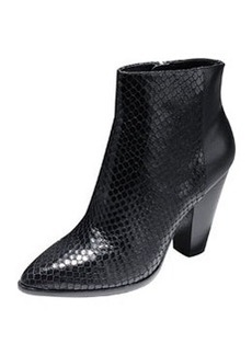 Cole Haan Vestry Snake-Embossed Ankle Boot
