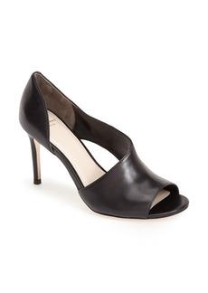 Cole Haan 'Viveca' Peep Toe Leather Pump (Women)