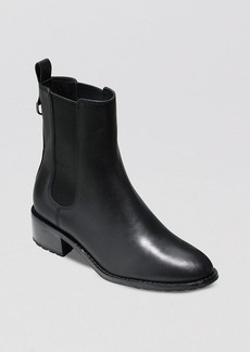 Cole Haan Waterproof Leather Rain Booties - Daryl