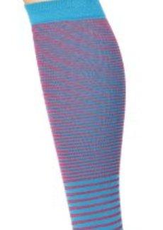 Cole Haan Women's 2 Scale Stripe Knee High Sock