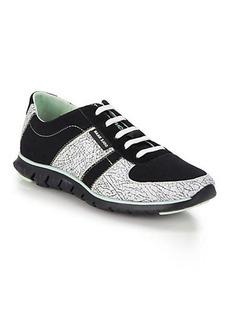 Cole Haan Zerogrand Crackle-Print Neoprene Sneakers