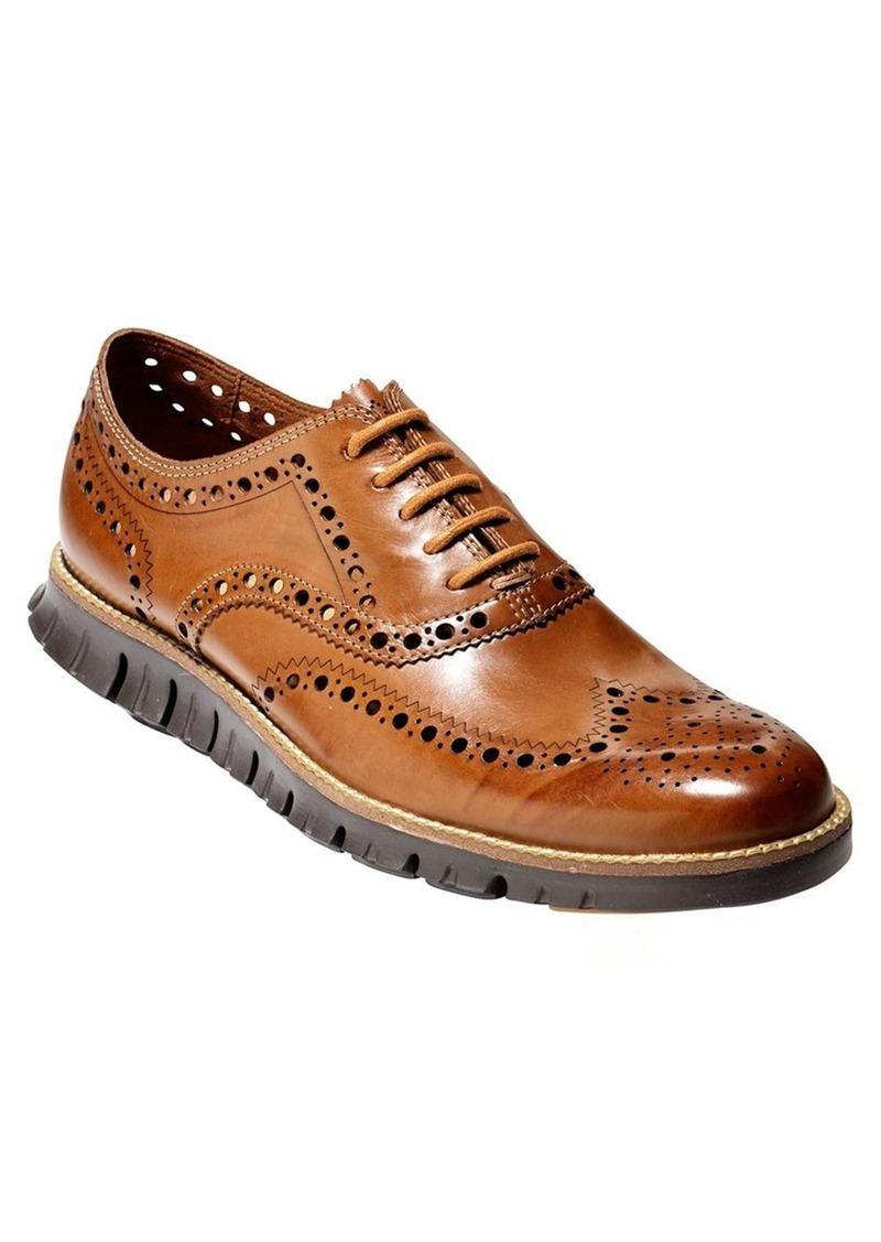 All Sales Cole Haan Shoes ZerGrand Wingtip