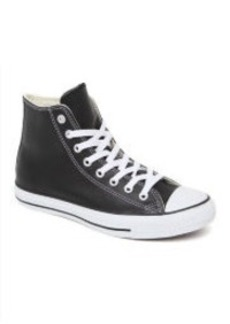 Converse All Star High Black Leather Sneakers