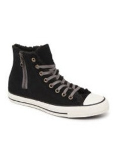 Converse Chuck Taylor All Star Hi Suede Shearling Sneakers