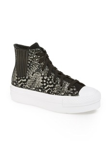 Converse Chuck Taylor® All Star® High Top Platform Chelsea Sneaker (Women)