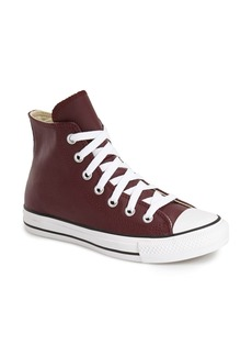 Converse Chuck Taylor® All Star® Leather High Top Sneaker (Women)