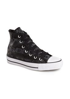 Converse Chuck Taylor® All Star® Rose Print High Top Sneaker (Women)