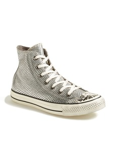 Converse Chuck Taylor® All Star® Snake Print Leather High Top Sneaker (Online Only) (Women)
