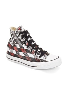Converse Chuck Taylor® All Star® 'Washed Flag' High Top Sneaker (Women)